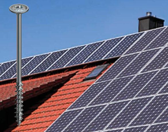 Wkręty do solarów i fotowoltaniki